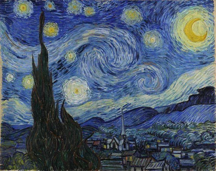 专业老师带飞,本周和0基础小伙伴一起画梵高的《星空》,《向日葵》