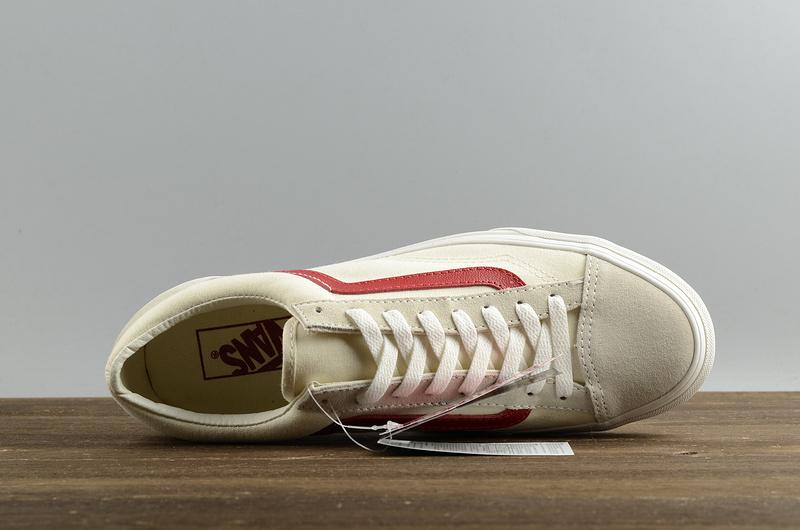 VANS/万斯<wbr>Vault<wbr>OG<wbr>Style<wbr>36周年LXM权志龙情侣板鞋<wbr>VNOA3DZ3OXS白红