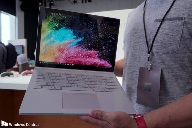 微软surfacebook2图赏,1499美元起你买?教程缚桃图片