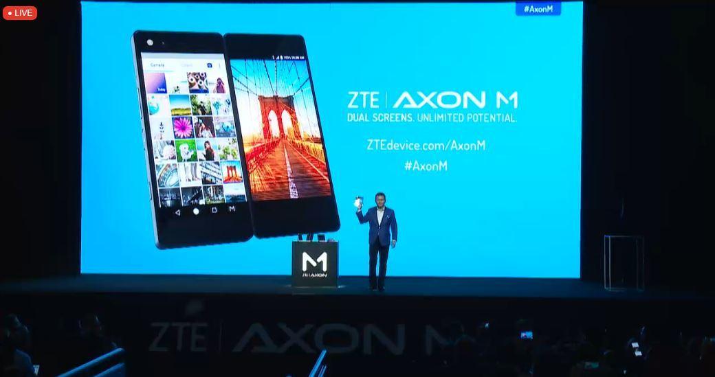 中興雙屏折疊手機AxonM正式發布,兩塊屏幕可以干什么?