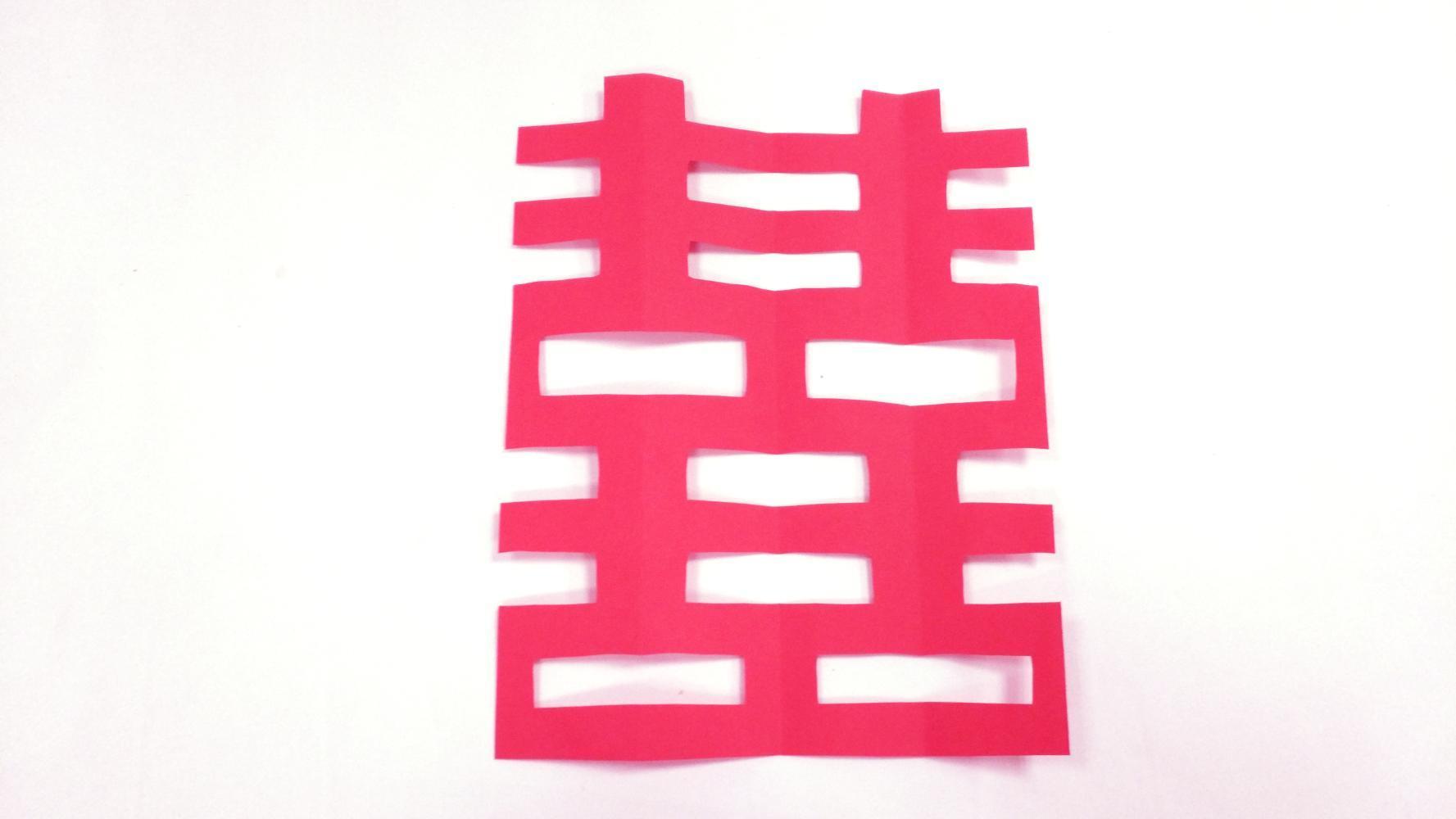 其实喜字剪纸非常简单,只需简单步骤就可以剪出双喜.一起来学学吧!