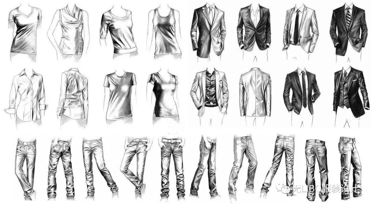 时尚 正文  服装褶皱是表现服装动感和材质的重要一环 也是画好效果