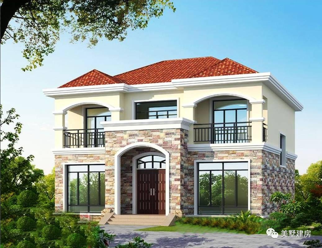 8米x8米二层房屋设计图