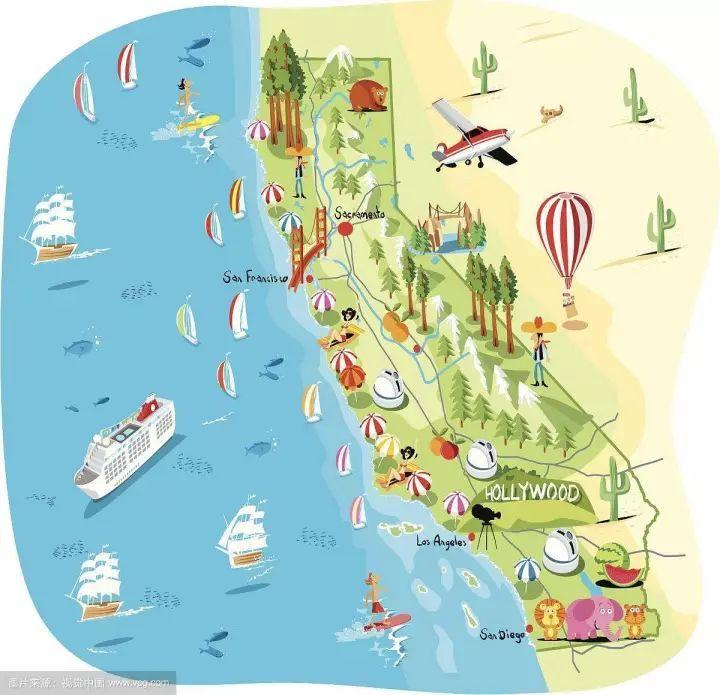 美国自驾游,我把首站设在加州