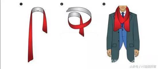 直接用丝巾重新围绕橡皮筋