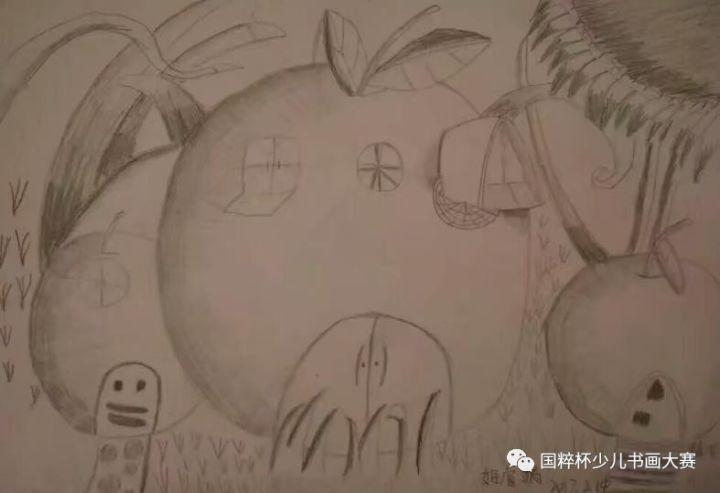国粹杯 全国青少年儿童书画大赛参赛作品展 甘肃玉门向日葵画室 二