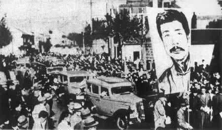 鲁迅巨幅画像为司徒乔所绘