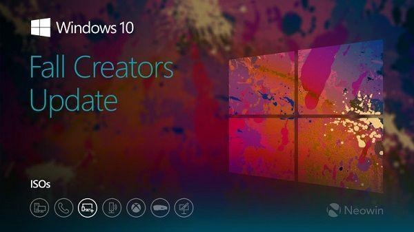 微软向Insider测试者放出Windows 10 build 16299 ISO镜像下载