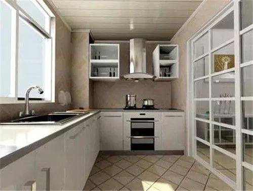 厨房太小?看看别人家的厨房这样设计老婆天天抢着做饭