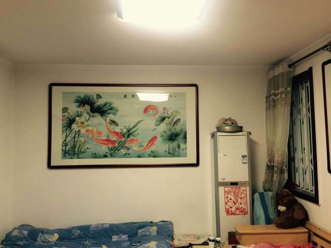 家里客厅字画内容_青青岛社区