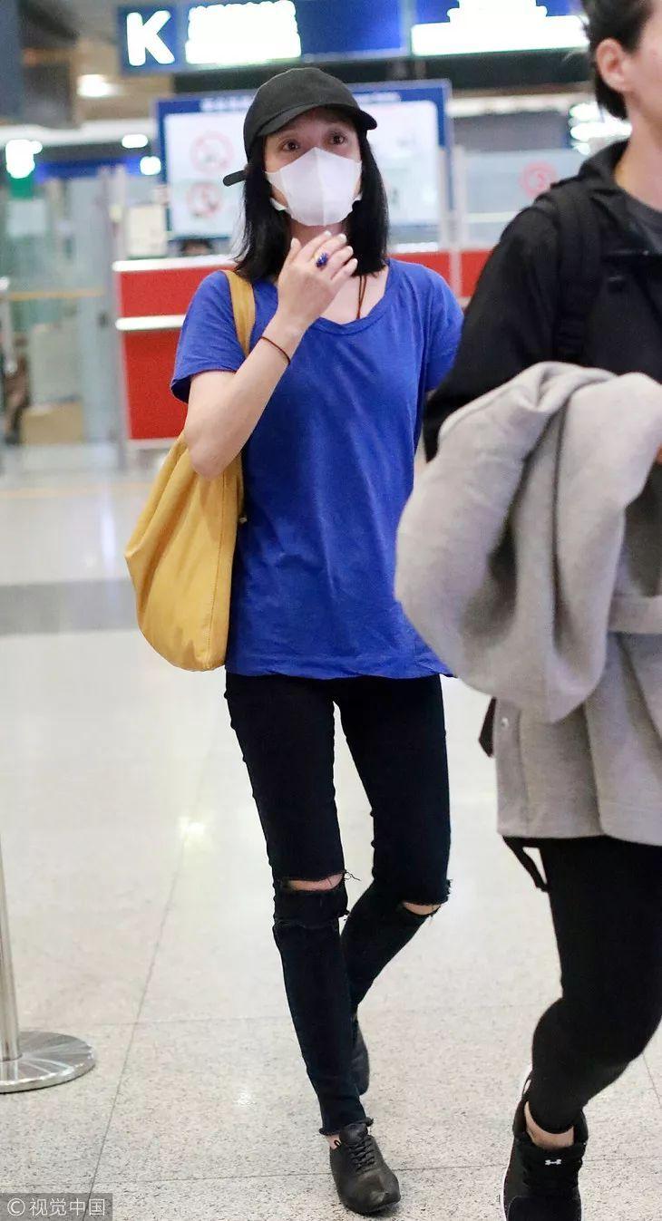 热巴的假刘海萌到爆,可她脚上的布洛克鞋更好看呢