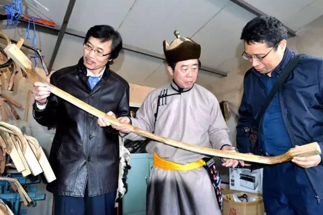 34,蒙古族牛角弓制作技艺