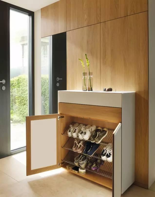 这样的入户鞋柜设计,你可还满意?