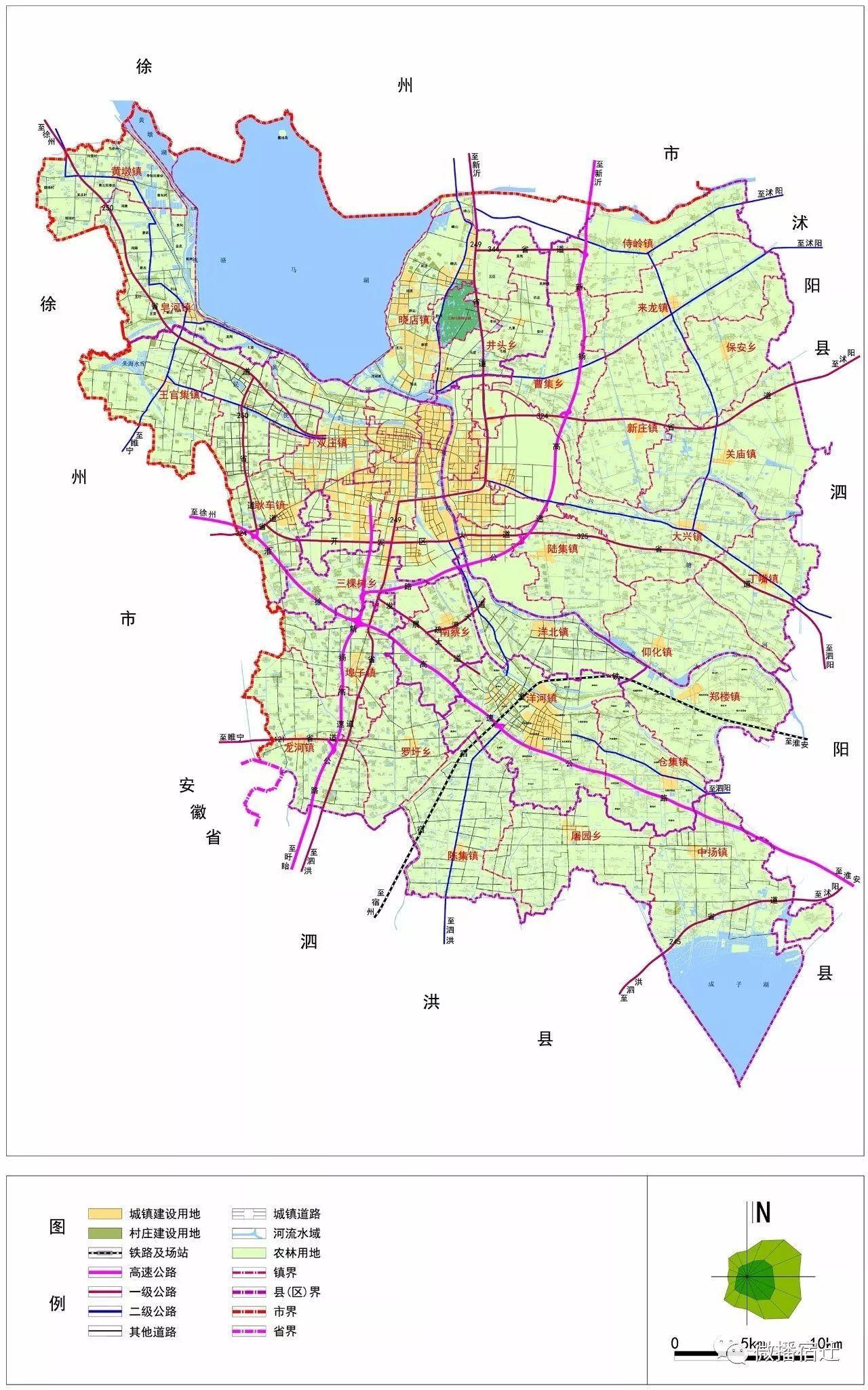 村庄布局规划图(2030)