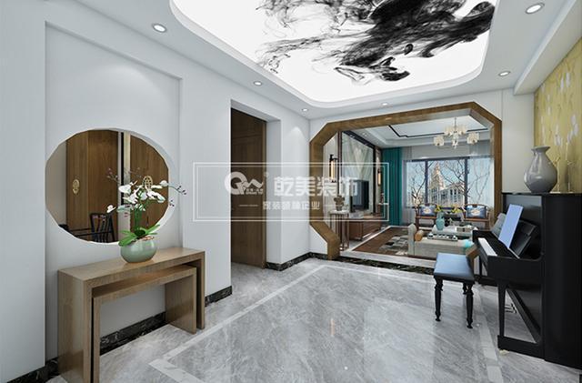 昆明华夏御棠小区,140住宅装修设计简约新中房子室内设计优秀平面图图片
