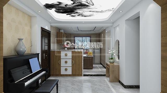 大理华夏御棠房子,140报告装修设计简约新中平面v房子昆明丽江外出考察小区图片