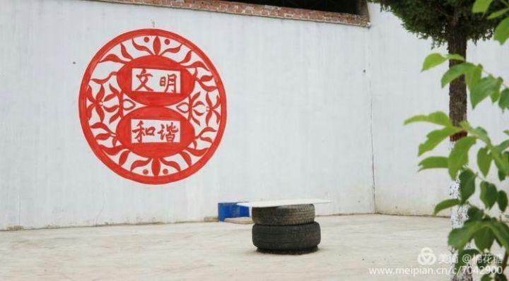中国梦主题墙画