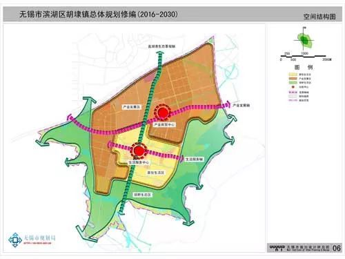滨湖区胡埭总体规划批前公示 打造滨湖区高端制造业基地