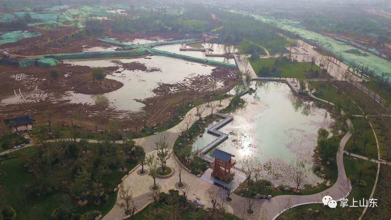 重磅 华山湖真的开挖了 无人机抢先带你看,济南版湿地大西湖