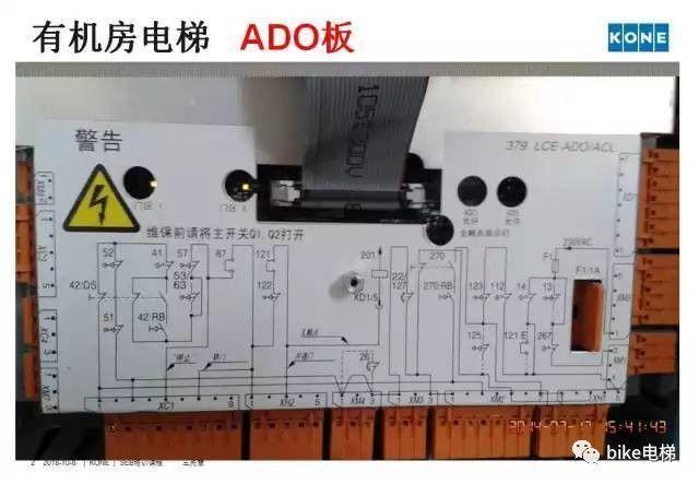 通力电梯安全回路板详解
