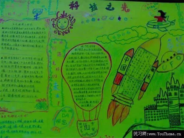 环保创意手绘图