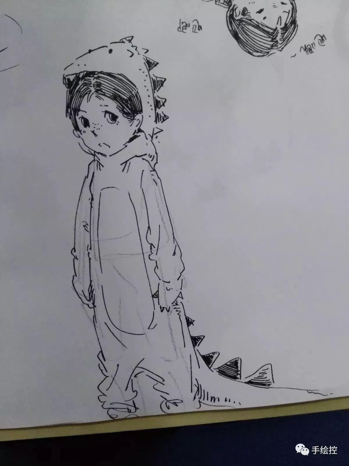 黑白手绘:让我们跨越黑白而乱舞_搜狐动漫_搜狐网