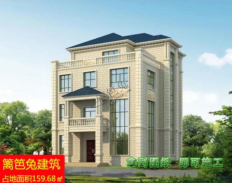 农村四层别墅设计图 农村四层楼房新款图片
