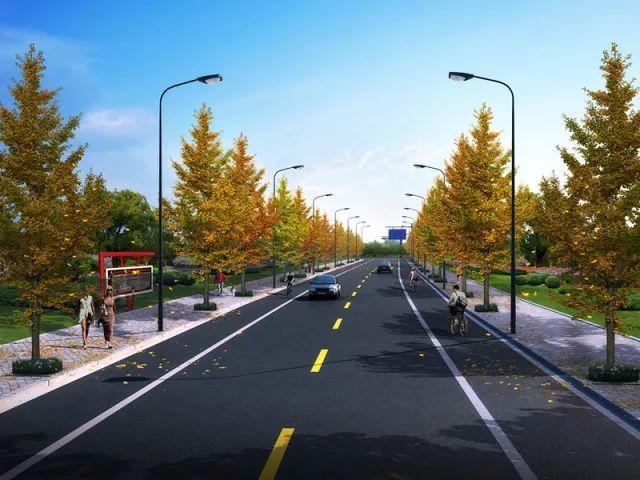 本项目按《城市道路工程设计规范》(cjj37-2012)中的城市支路标准设计