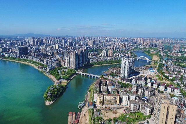 衡阳城市全景