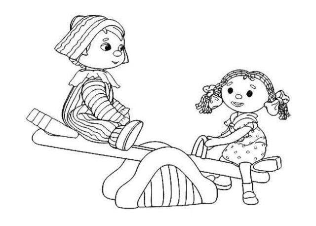 幼儿园小朋友人物简笔画