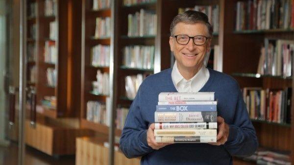 一年读50本书? 比尔·盖茨告诉你四个秘诀