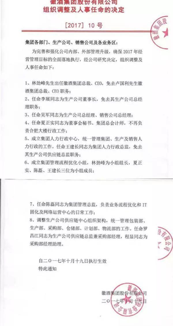 徽酒集团董事长_次高端能否挽救徽酒_腾讯新闻