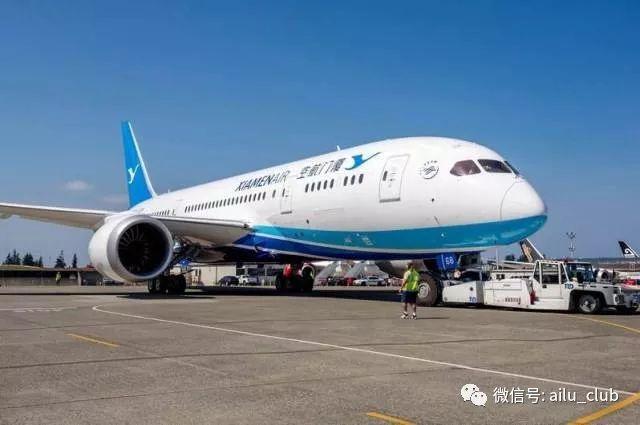 道宽体客机或世界上最年轻机队之一的厦航,黄金时刻,直飞不转机.