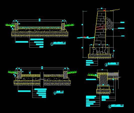 cad两层楼平面设计图