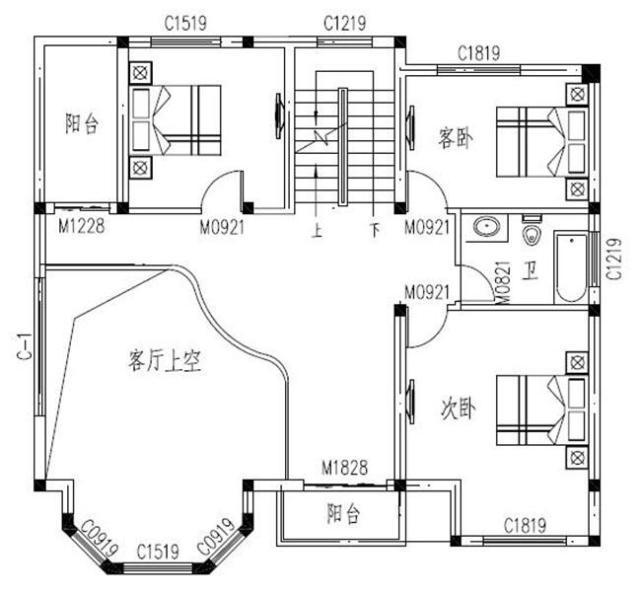 农村三层房屋设计图 为了父母这样建,值