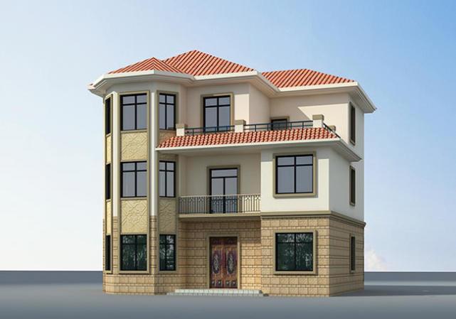 (农村三层房屋设计图)为了父母这样建,值!
