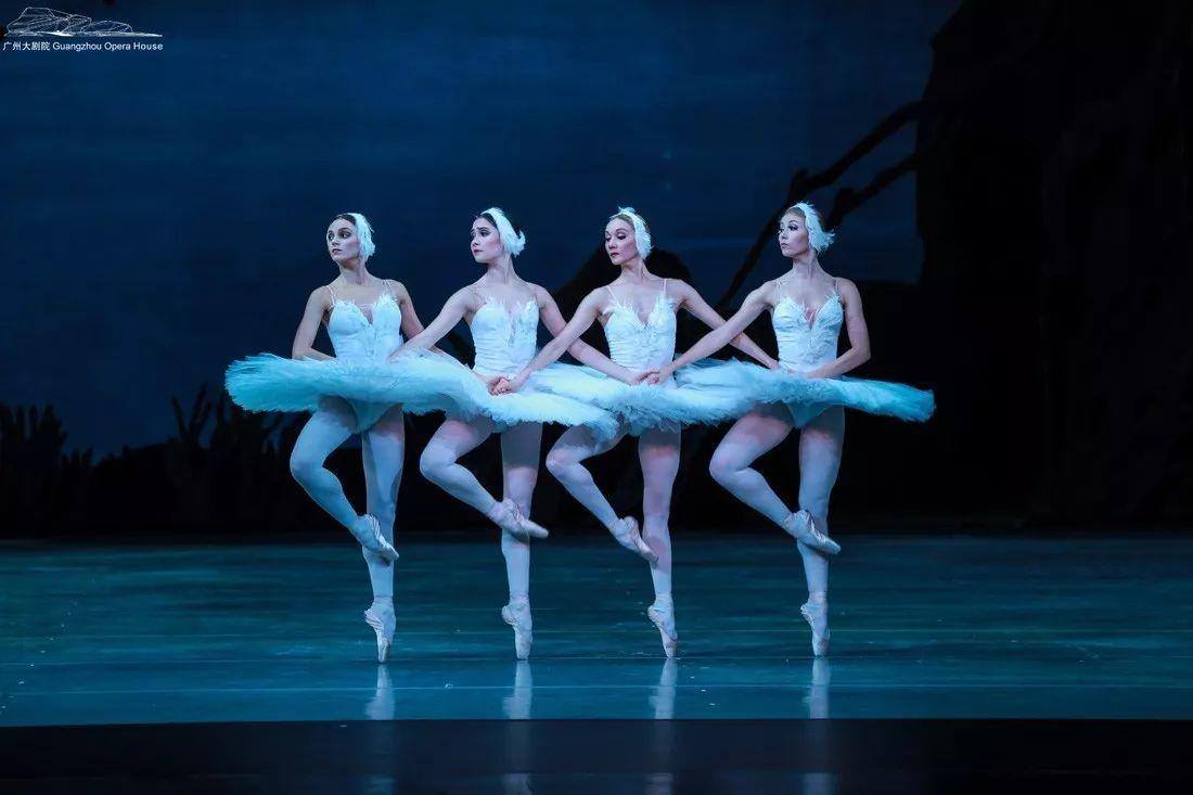 俄罗斯圣彼得堡马林斯基桌面芭蕾舞团《天鹅湖》背影壁纸性感女神剧照剧院图片