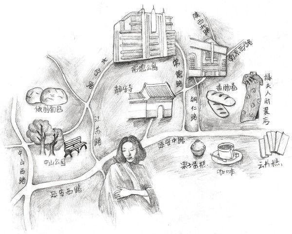 """张爱玲的""""美食地图"""""""