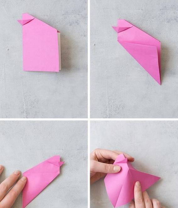 皱纹纸创意手工制作大,太美了!