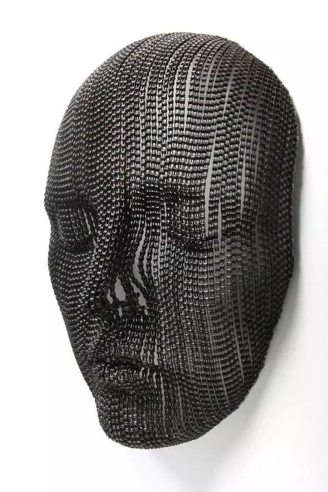 金属链条雕塑人体丨韩国艺术家young-deok seo做到了
