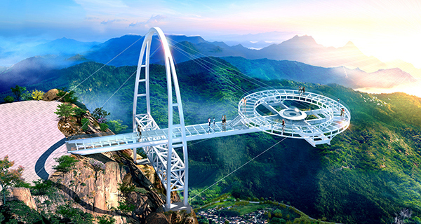 纵观北京!看看北京8大玻璃栈道第一名堪称世界...