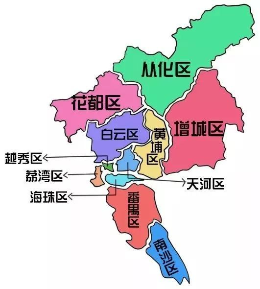 广州最全美食地图来了!一图在手,一整年吃不重样!