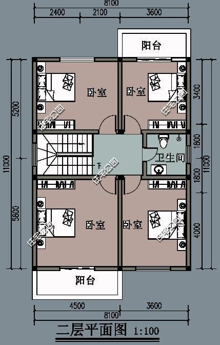 11米x12米新农村宅基地房屋设计图11米x12米新农村宅基地房屋设计图
