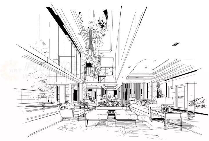 娱乐 正文  ▲建筑一点透视表达 邓蒲兵 2 马克笔表现 3 方案设计