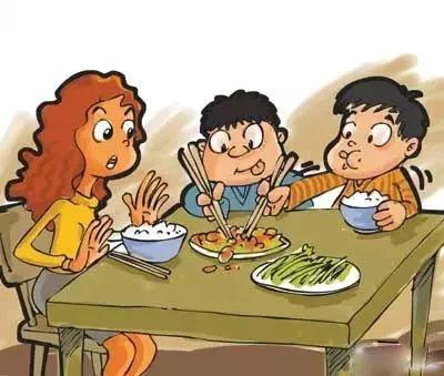 一個人的身上留下不可磨滅的印記的 卻是家庭 13  在你們家,每天吃飯圖片