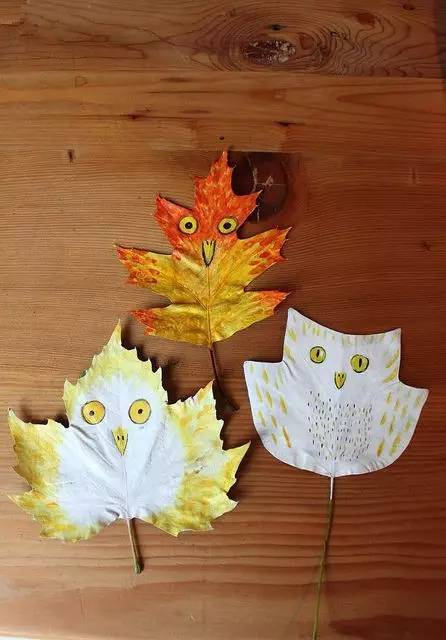 秋天到,这些树叶创意玩法你get了吗?