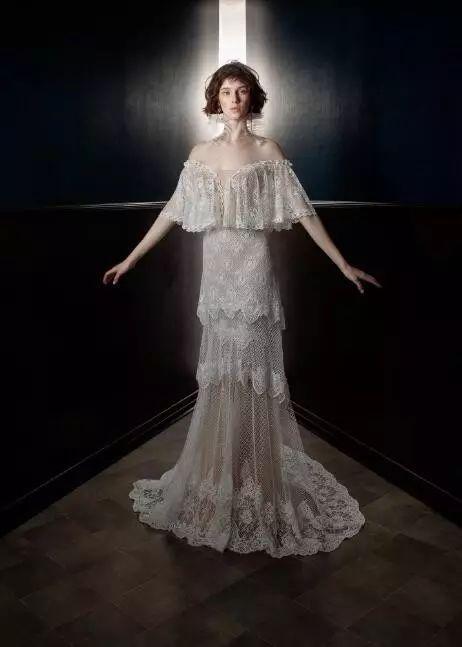 2018热吧婚纱模特图片