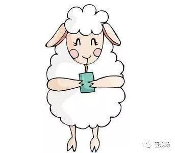 2015羊年简笔画图片