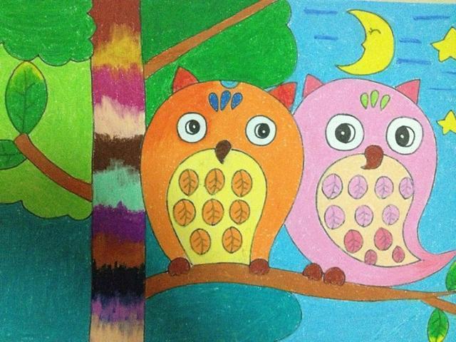 幼儿园美术儿童画:上百张创意作品,孩子需要的正是这些!图片