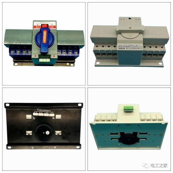 【电气分享】讲解接触器控制双电源切换接线图